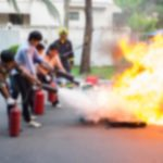 Abstract,blur,people,practicing,how,to,stop,fire,in,fire